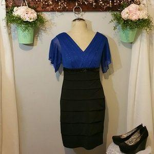 Enfocus Studio shimmer gown/dress